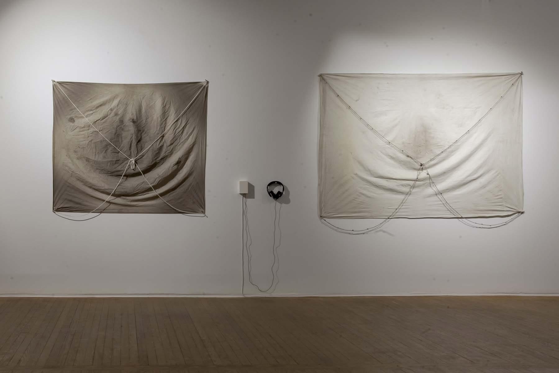 Regina José Galindo, La historia la escriben quienes sobreviven, 2019, exhibition view, Casa de América, Madrid, ph. A. Izquierdo