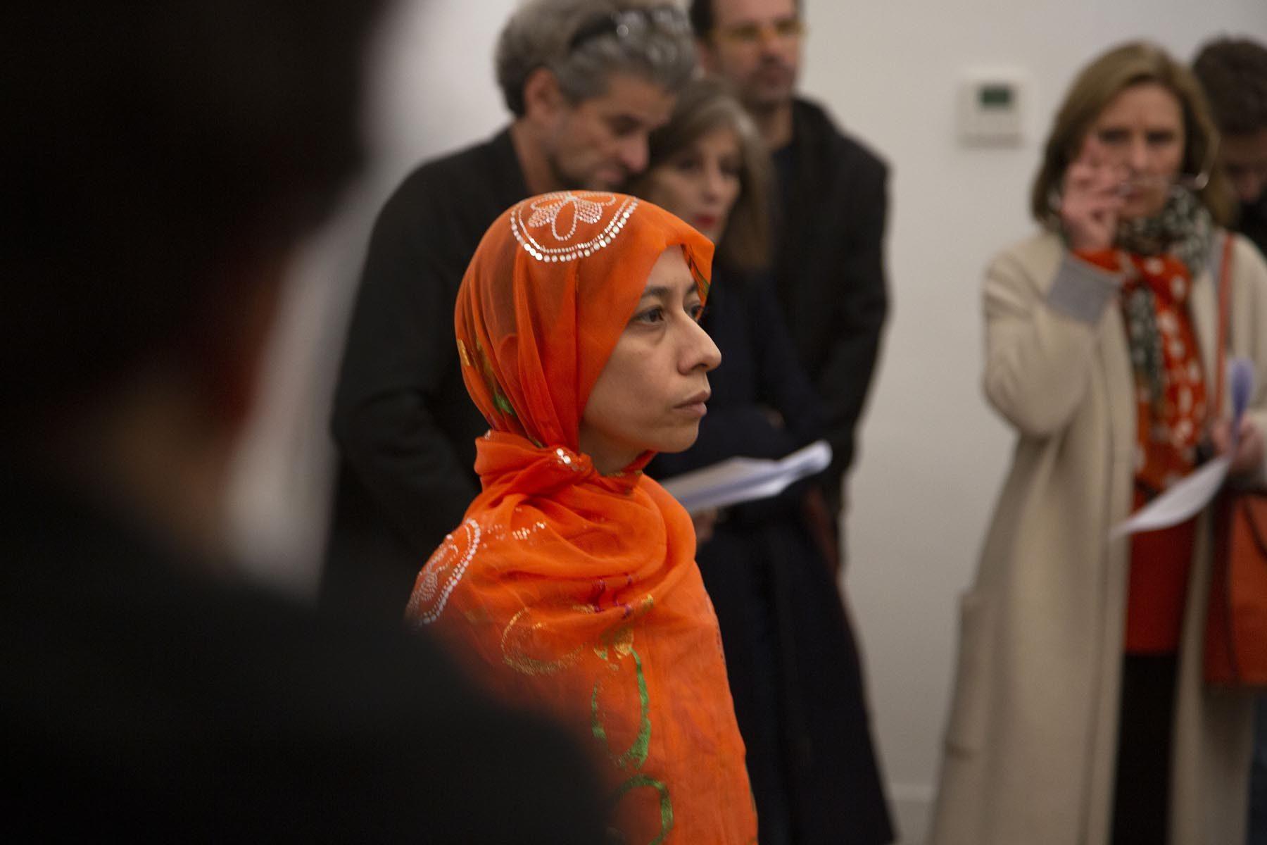 Regina José Galindo, Lavarse las manos, 2019, performance, Real Academia de España en Roma, ph. J. Tomassini