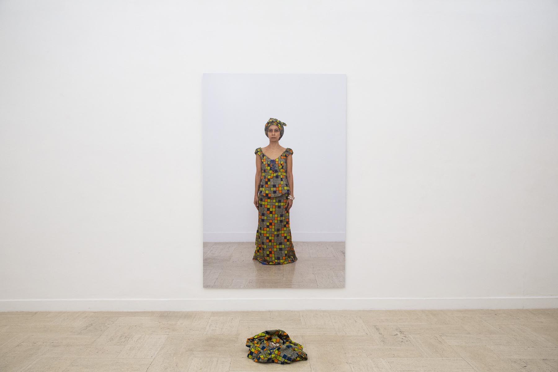 Regina José Galindo, Lavarse las manos, 2019, exhibition view, Real Academia de España en Roma, ph. J. Tomassini